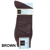 Brown Printed Ankle Socks