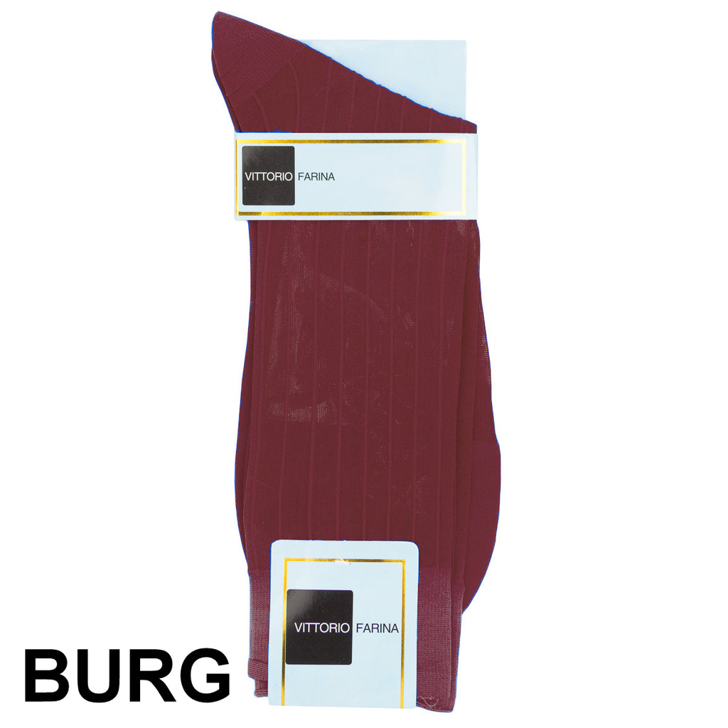 Burgundy Printed Ankle Socks