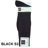 Black Printed Ankle Socks