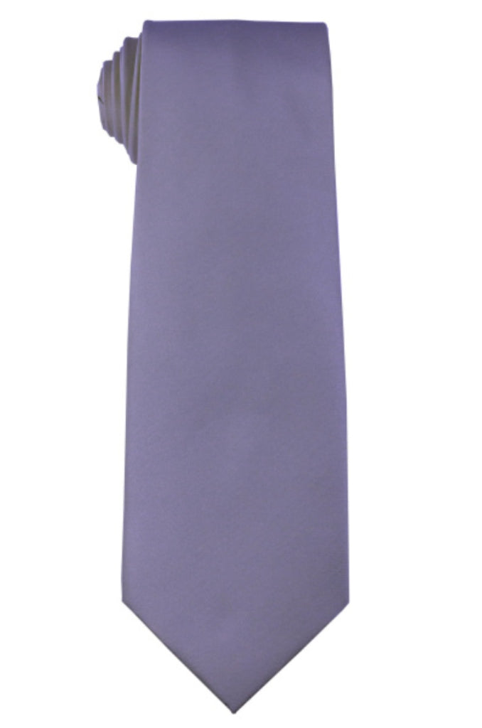 PERRYWINKLE NECKTIE AND HANKY SET