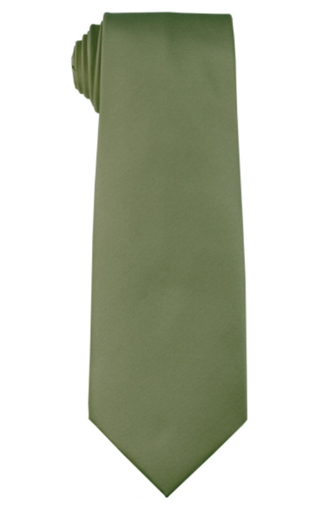 SAGE NECKTIE AND HANKY SET