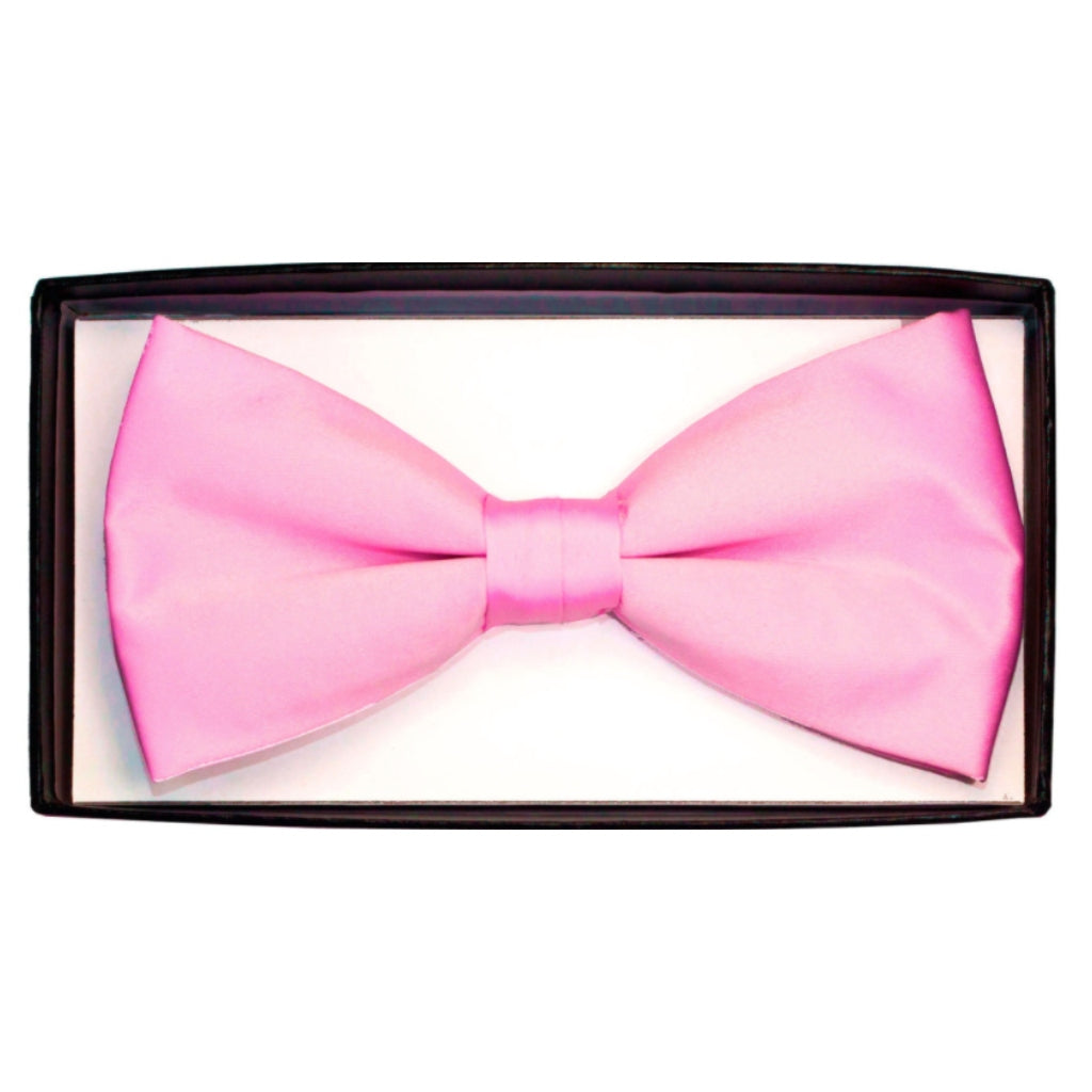 DARK PINK BOWTIE AND HANKY SET