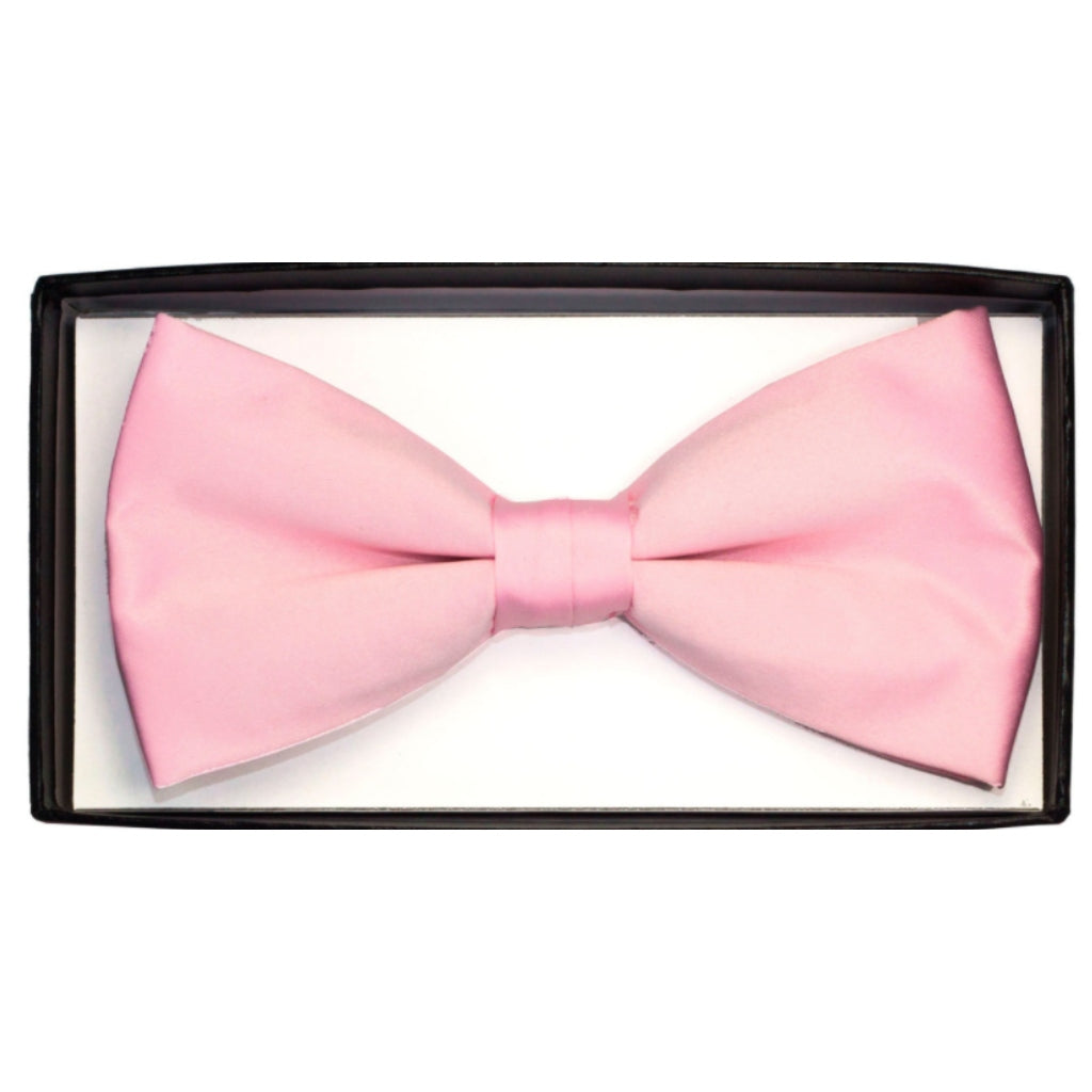 PINK BOWTIE AND HANKY SET