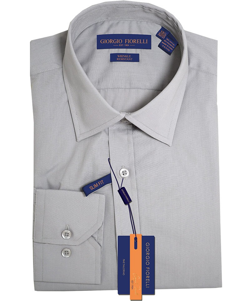Light Grey Fit Dress Shirt