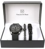 The Nevin Watch & Bracelet Gift Set