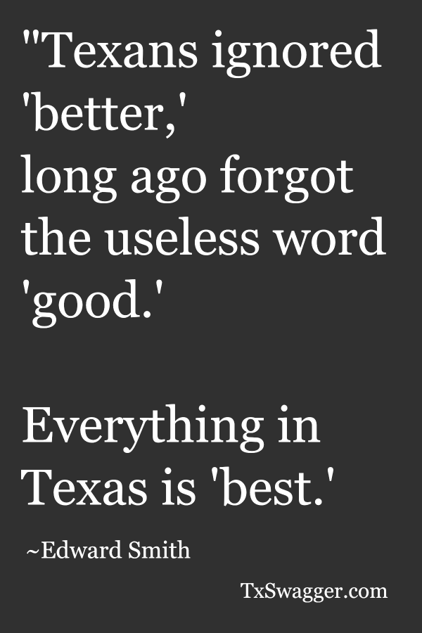Texas quote by Edward Smith