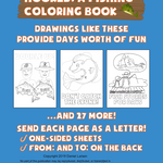 Hooked: A Fishing Coloring Book