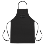 Black Texas flag on black apron