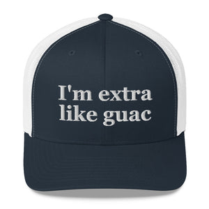 I'm Extra Like Quac Trucker Hat