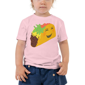 Happy Taco Toddler T-Shirt