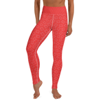 Texas Leggings Red - Full Length