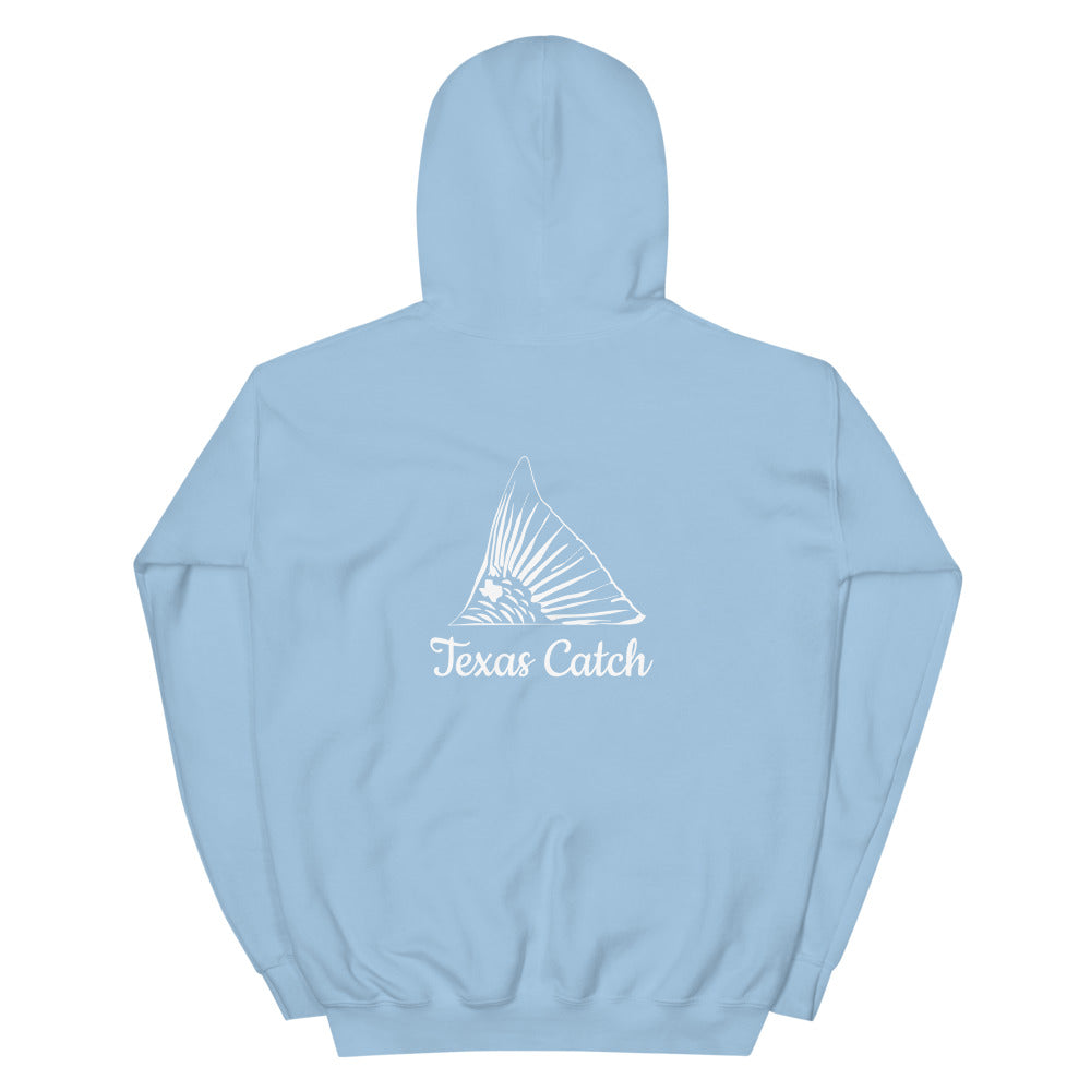 Texas Catch Redfish (2-sided) Hoodie