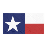 Texas flag towel