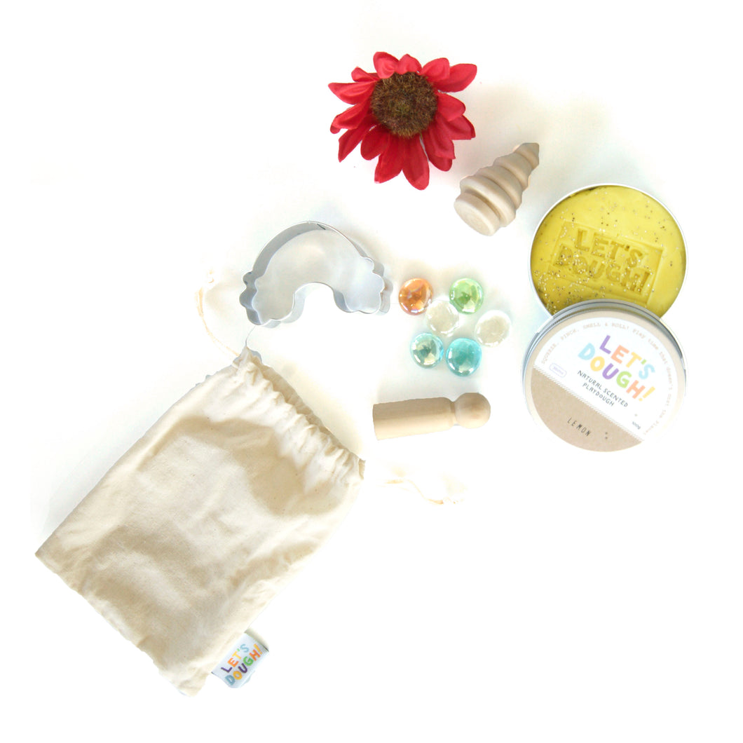 Over The Rainbow Sensory Bag