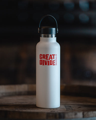 Stainless Growler - 21oz Hydroflask White