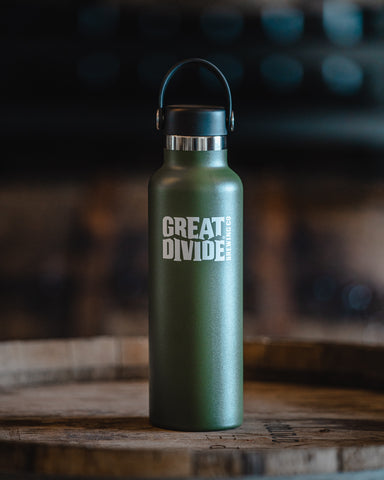 Stainless Growler - 21oz Hydroflask Olive Green