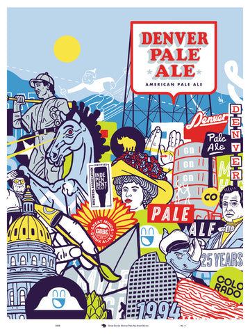 Denver Pale Ale Artist Print No. 4