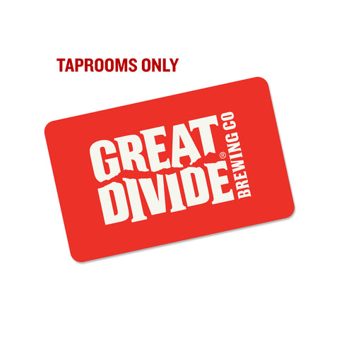 Gift Card - Taproom and Barrel Bar