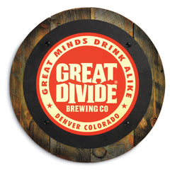 Great Divide Light-Up Pub Sign