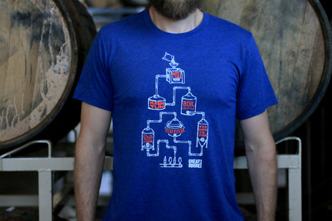 Brewing Process Tee