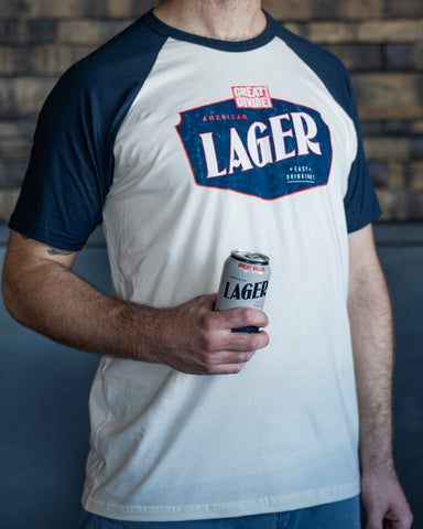 Great Divide Lager Raglan Tee