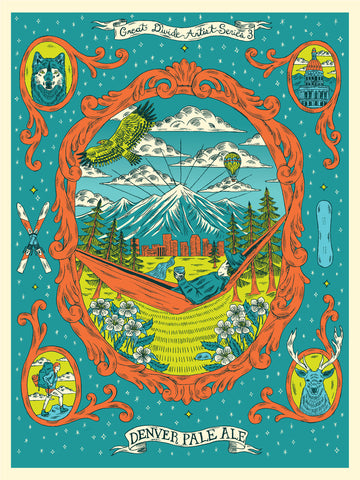 Denver Pale Ale Artist Series #3 Screenprint