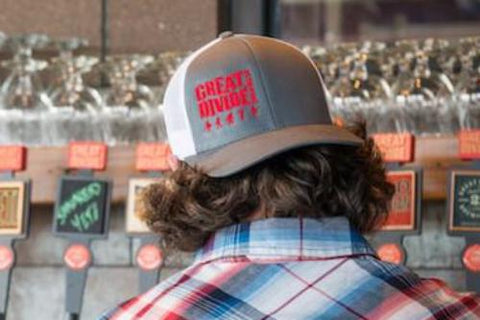 GD Grey Trucker Hat