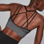 Sexy Cross Back Yoga Sports Bra
