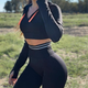 Hip-lift High-waisted Stretch Leggings