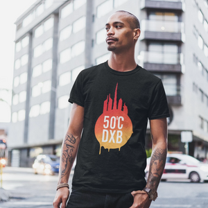 Downtown Fireball T-Shirt Male
