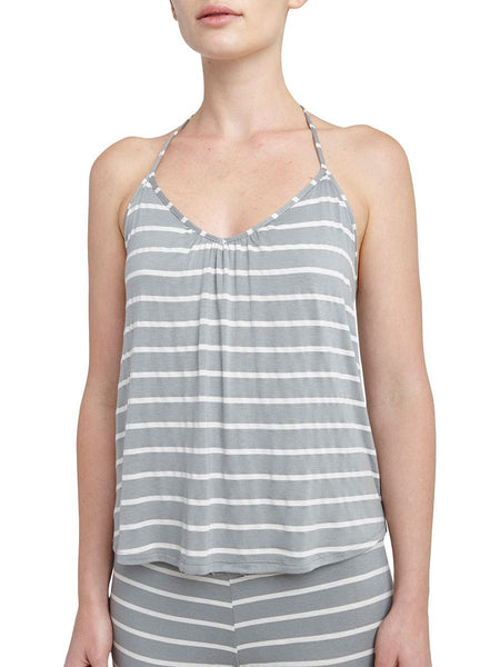 Lounge Stripes T-Back Cami