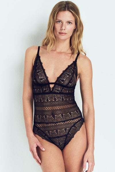 Ivy Deep Decollete Soft Cup Bodysuit