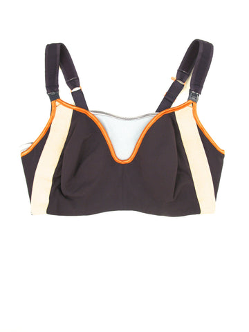 Orange Zest Sporty Maternity Bra