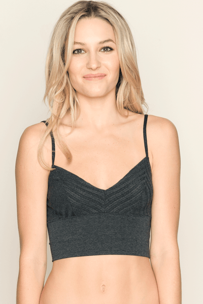 Wide Rib Crop Cami