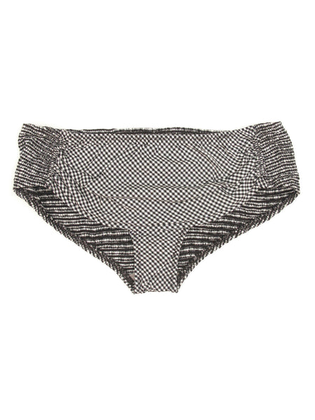 Gingham Shirting Fancy Bikini Bottoms