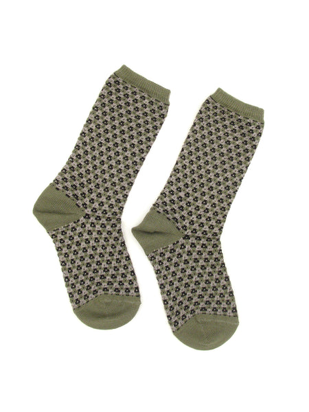 Jacquard Ankle Socks