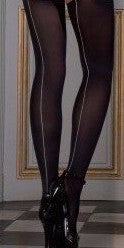 Les Coquetteries Opaque Back Seamed Stockings
