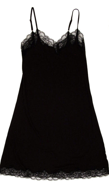 Luxe Lace Organic Cotton Chemise