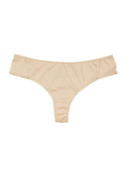 Modern Vintage Cotton Thong