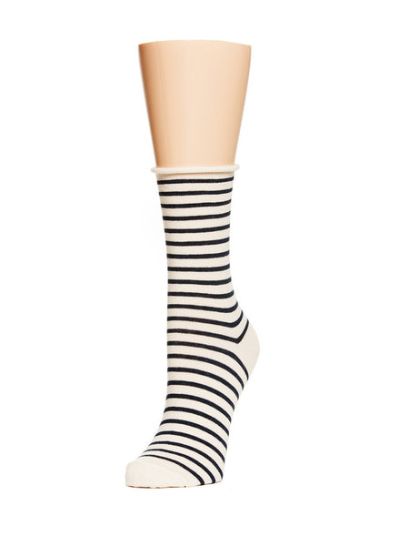 Nautical Stripe Crew Socks