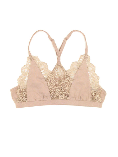 So Fine with Lace Racerback Bralette