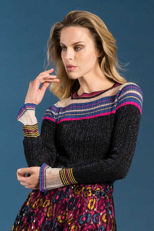 Pullover in lurex