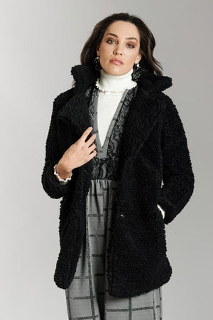 Teddy Coat in pelliccia sintetica