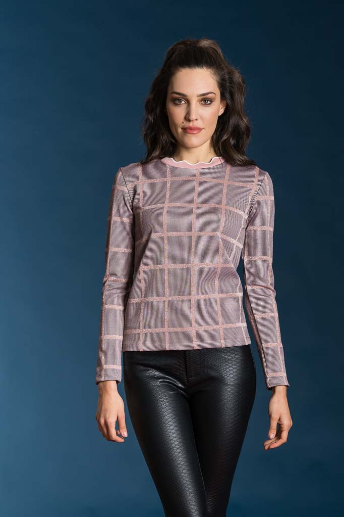 Maglia knitted jacquard