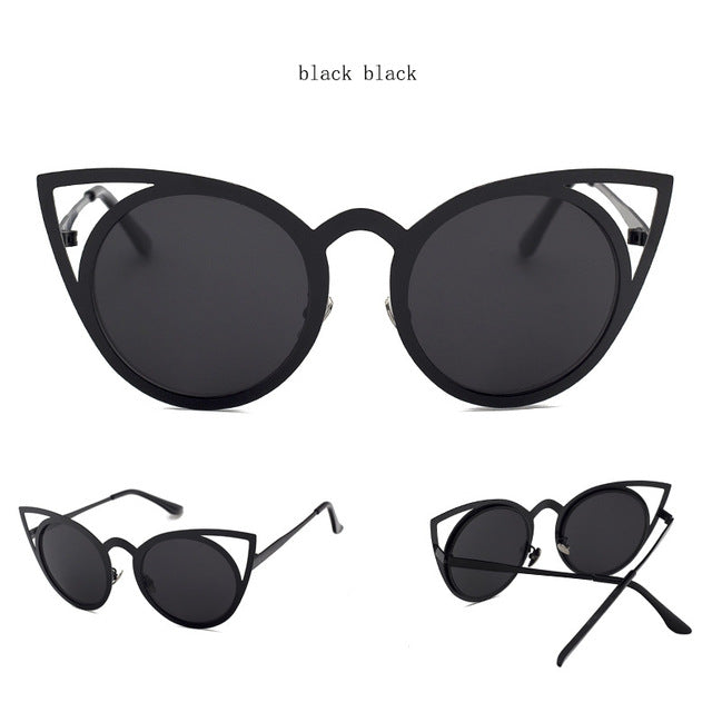 MISSY VINTAGE CAT EYE SUNGLASSES - BLITZ & GLITZ