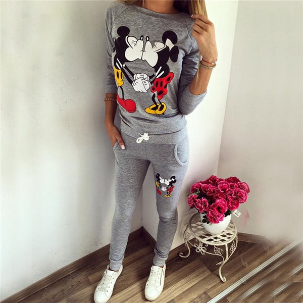 MICKEY CASUAL SPORTSWEAR SET PANTS SWEATER - BLITZ & GLITZ