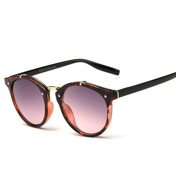 PANAMA CITY ROUND RIVET SUNGLASSES - BLITZ & GLITZ