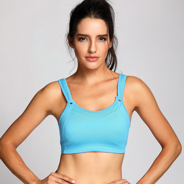 WIRE FREE RUN SPORTS BRA HIGH IMPACT FULL COVERAGE NON PADDED - BLITZ & GLITZ