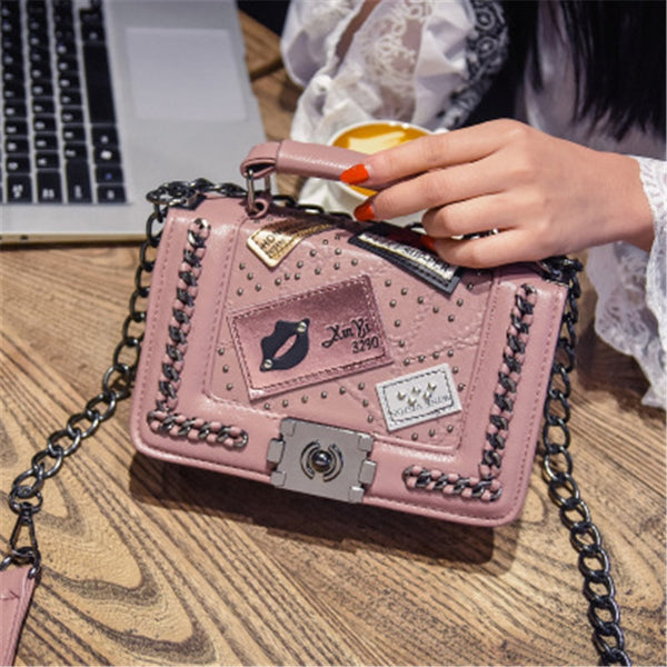 TALLINN CHAIN DESIGNER CROSSBODY BAG AUTUMN 2018 - BLITZ & GLITZ