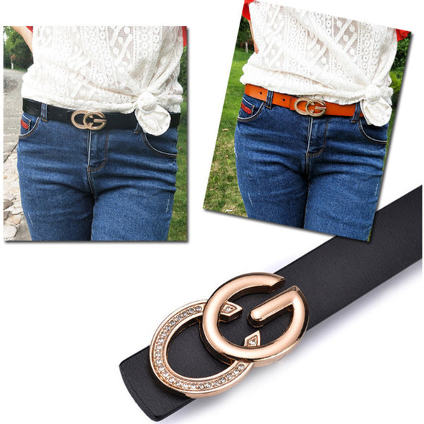 RUMANIA STYLE LEATHER BELT - BLITZ & GLITZ
